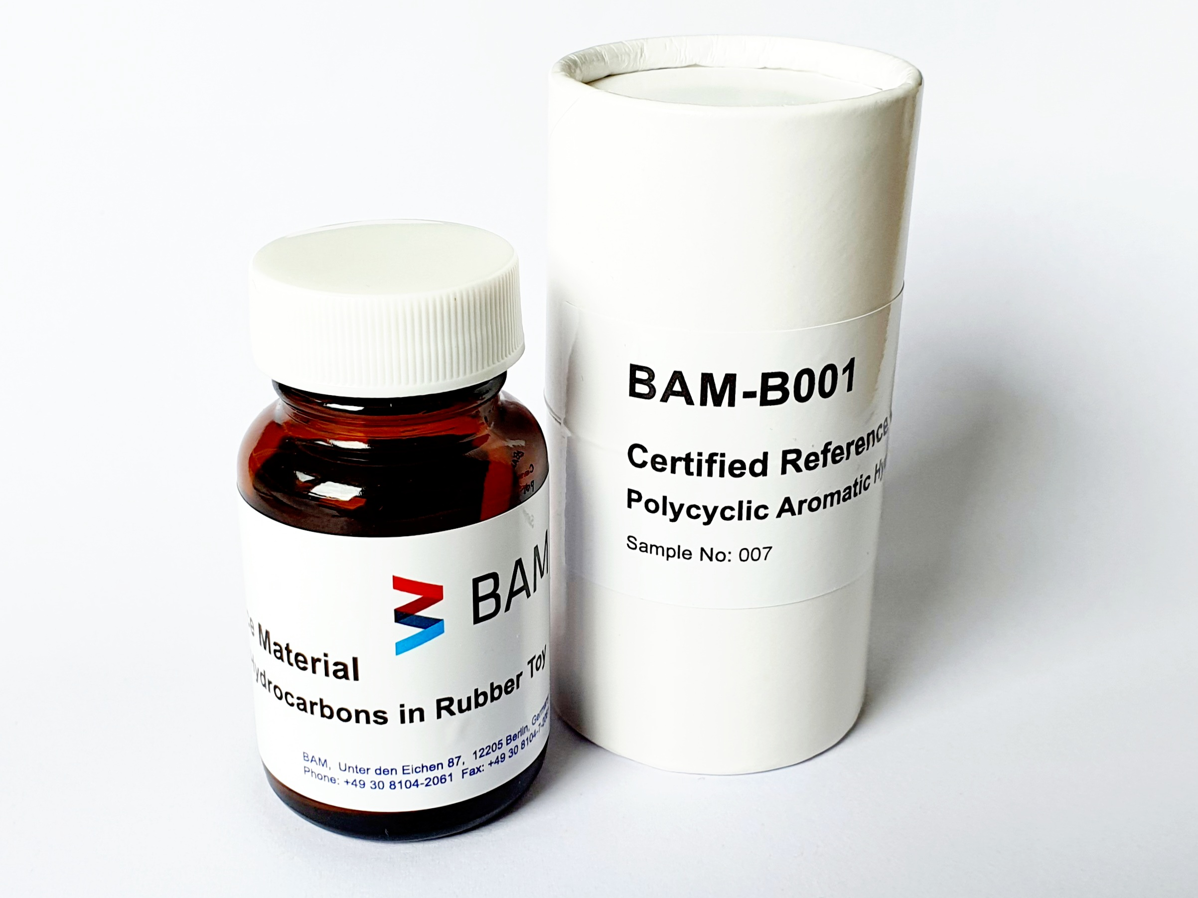 Reference material  BAM-B001 PAH in rubber