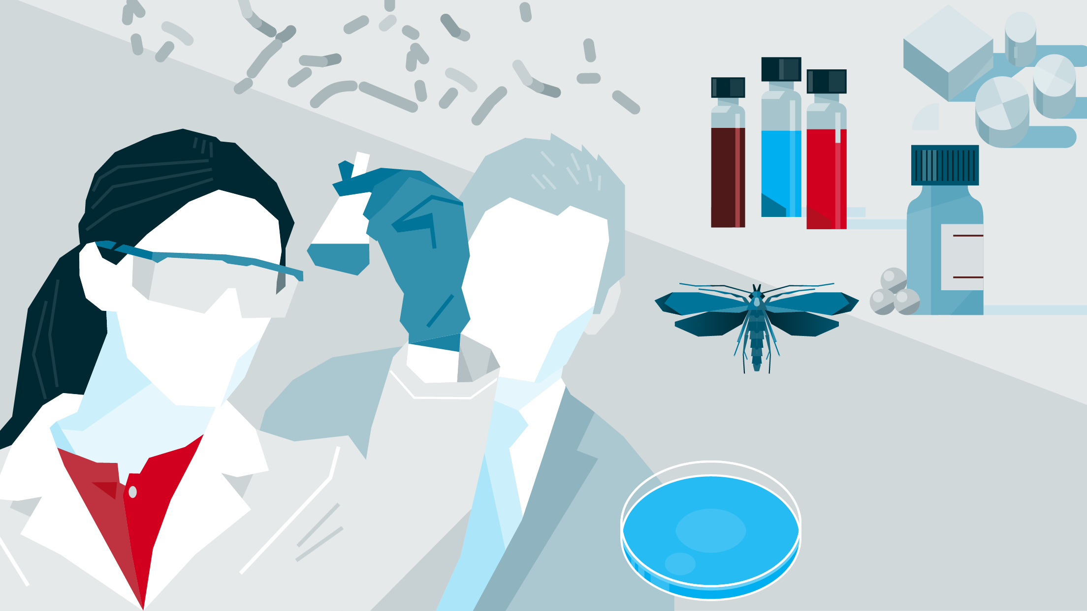Title graphic for BAM's Reference Materials, Organisms, Procedures, Proficiency Testing Portal